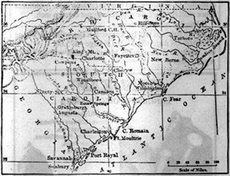 South Carolina: Early Surveying History